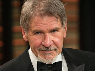 Harrison Ford walking unaided, six weeks...