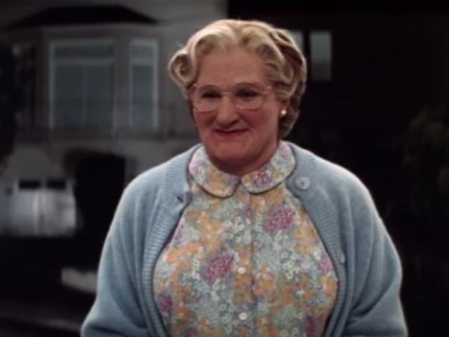 Pin Hello Mrs Doubtfire Movie Lover Skreened T Shirts ...
