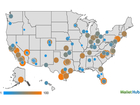 Map: 2015's best and worst cities for recreation
