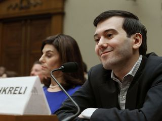 Shkreli didn't say much at congressional hearing