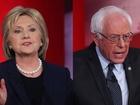 Clinton hits Sanders on gun control (again)