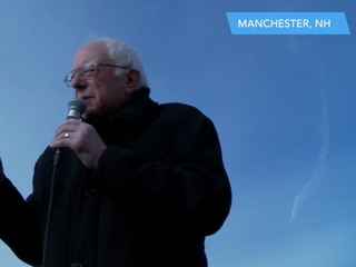 Sanders connects with financial crash generation