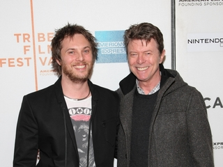 David Bowie's son announces baby news
