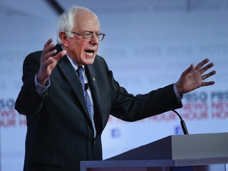 Sanders' claim on African Americans and weed