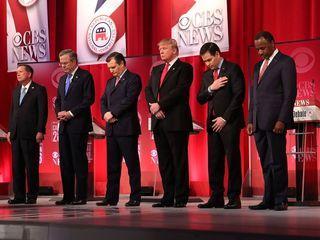 GOP candidates praise Scalia's influence