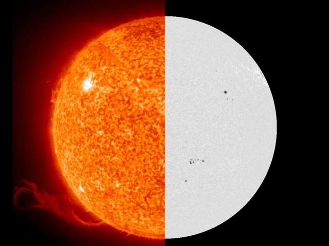 The sun isn t yellow or orange it s white newsy story