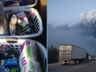Syrian refugees help families who fled wildfire
