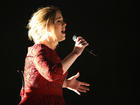 Adele endorses Clinton at Miami concert