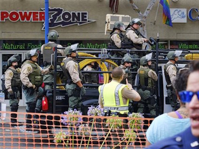 PD: Man arrested near California gay pride parade had guns, explosives""