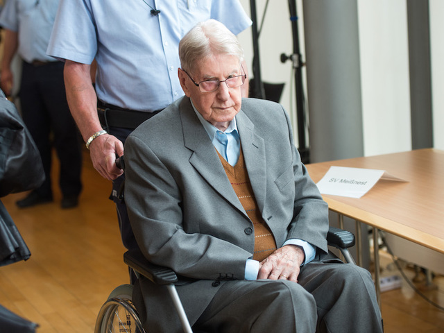 Former Auschwitz guard jailed for 5 years in Germany