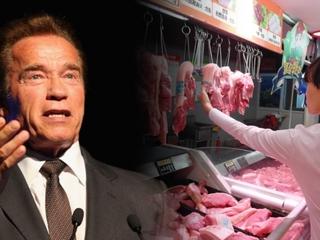 Schwarzenegger wants China to cut down on meat