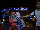 Witnesses describe bloody Istanbul attack scene