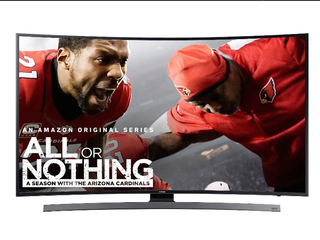 Amazon Prime: Curved Samsung TV nearly half off