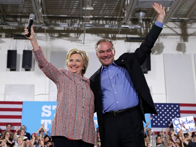 LIVE: Hillary Clinton speaking with Tim Kaine