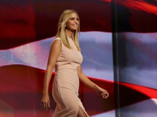 Ivanka Trump showed off her fashion line at RNC