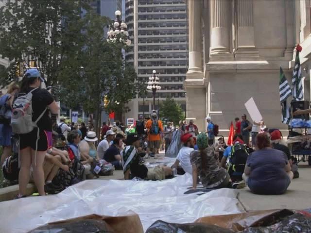 Philadelphia Marijuana Supporters - Inflatable Joint