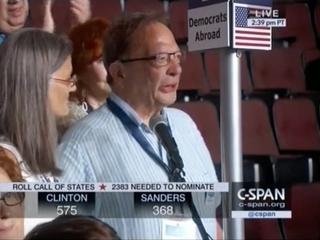 DNC roll call had plenty of politics and heart