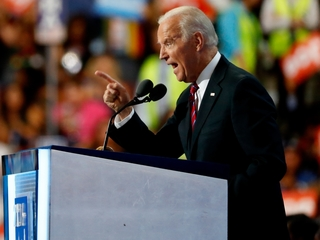 Joe Biden knocks Trump in DNC speech
