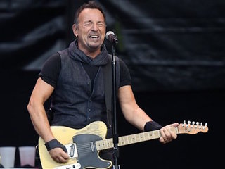 Bruce Springsteen played for how long?