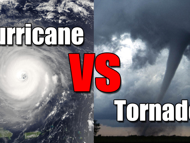 Hurricane vs. Tornado: What's the difference?