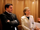 Clinton's aide plays Trump in debate prep