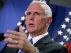 Gov. Pence campaigns in Fort Wayne