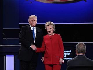 Presidential candidates debate at Hofstra Univ.