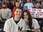 Fan drops ring during Yankee Stadium engagement