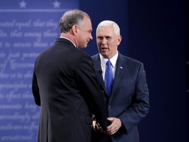 Pence On Kaine's Economic Record: He Cut Jobs By Half