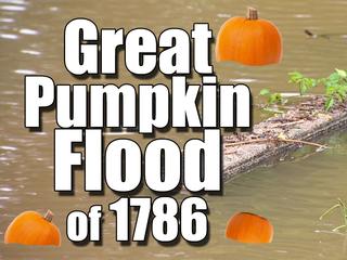 Halloween without pumpkins: Great Pumpkin Flood