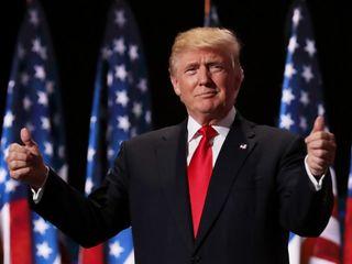 Republican Donald Trump wins Indiana