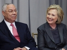 Colin Powell announces support for Clinton