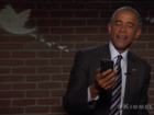 Obama reacts to Trump's mean tweet about him