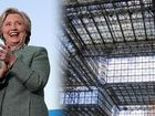 Clinton chooses election night event location