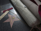 Donald Trump's Hollywood star vandalized