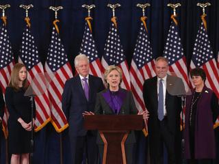 Hillary Clinton gives first speech since loss