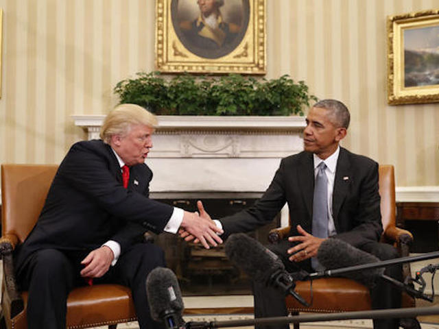 president barack obama shakes hands with president elect donald trump in the oval office of the white house in washington thursday nov 10 2016 barack obama oval office