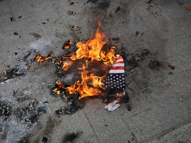 Valley sides with Trump on flag burning punishment
