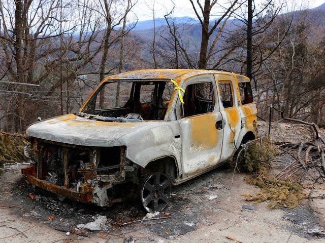 2 juveniles charged in connection with Sevier County wildfires