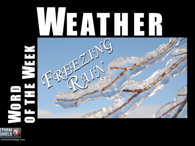 What is freezing rain?