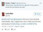 Trump retweets wrong Ivanka — and she hits back