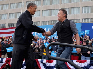 Springsteen gives a private White House concert