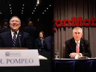 Pompeo confirmed, Tillerson approved for hearing