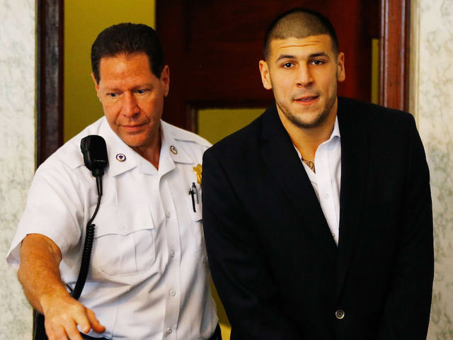 Aaron Hernandez had Bible verse scrawled on his forehead