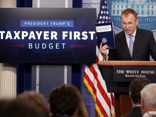 How does Trump's budget affect Medicaid?