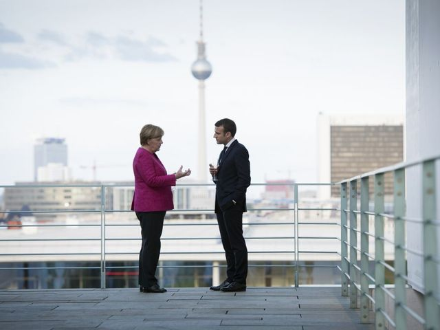 Britain tells Merkel it will be 'strong partner'
