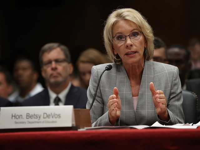 DeVos Leaves Door Open For Federally Funded Discrimination
