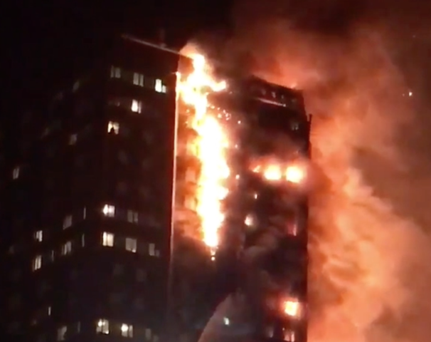 Horrifying first pictures from inside Grenfell Tower after devastating inferno