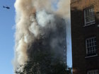 Police: London fire started in fridge freezer