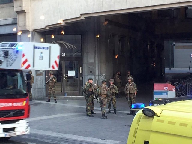 Explosion Heard at Brussels Train Station, People Evacuated